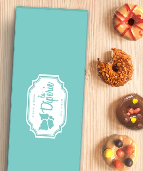Boîte-cadeau de beignets chauds sur mesure   Diperie (La)