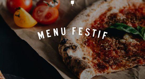 Menu festif pour les partys   NO.900 Pizzeria Napolitaine
