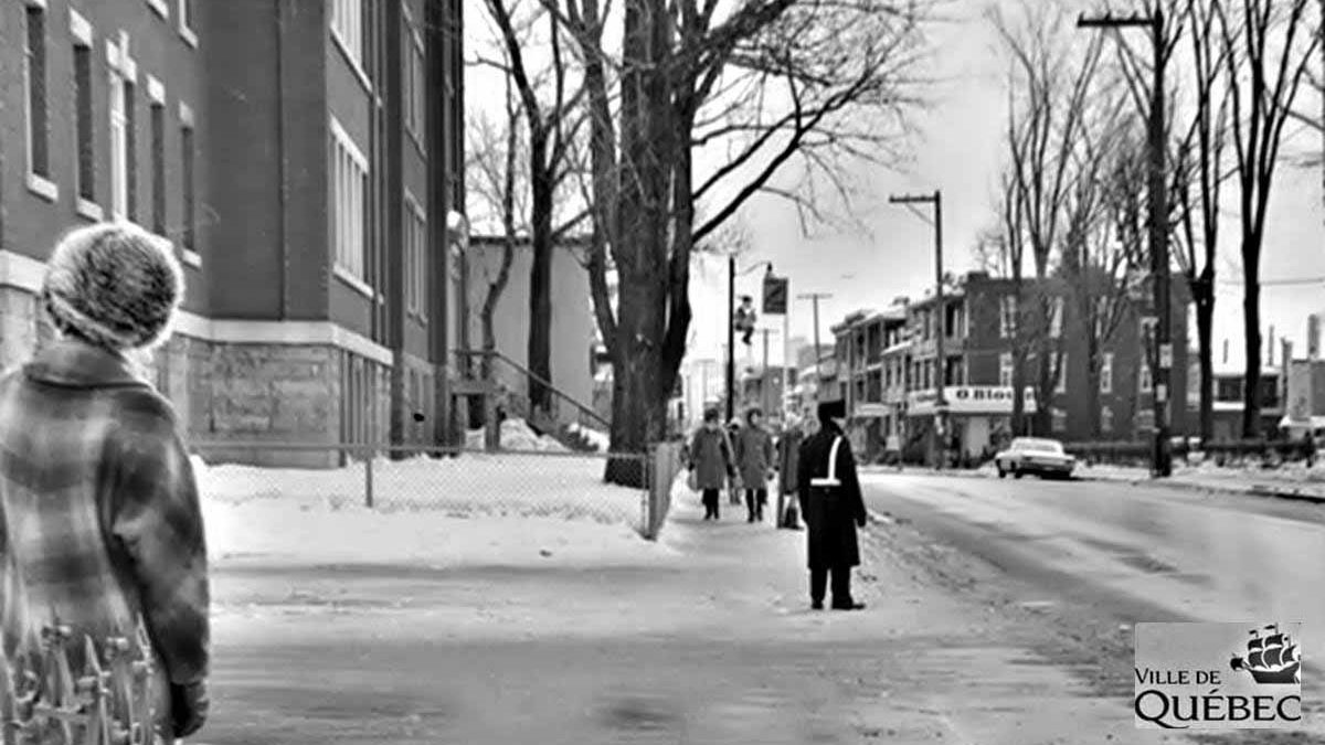 Limoilou dans les années 1960 (119) : un agent de circulation sur la 1re Avenue | 19 janvier 2020 | Article par Jean Cazes
