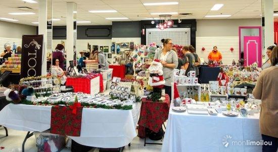 Premier marché de Noël aux Galeries de la Canardière - Jason Duval