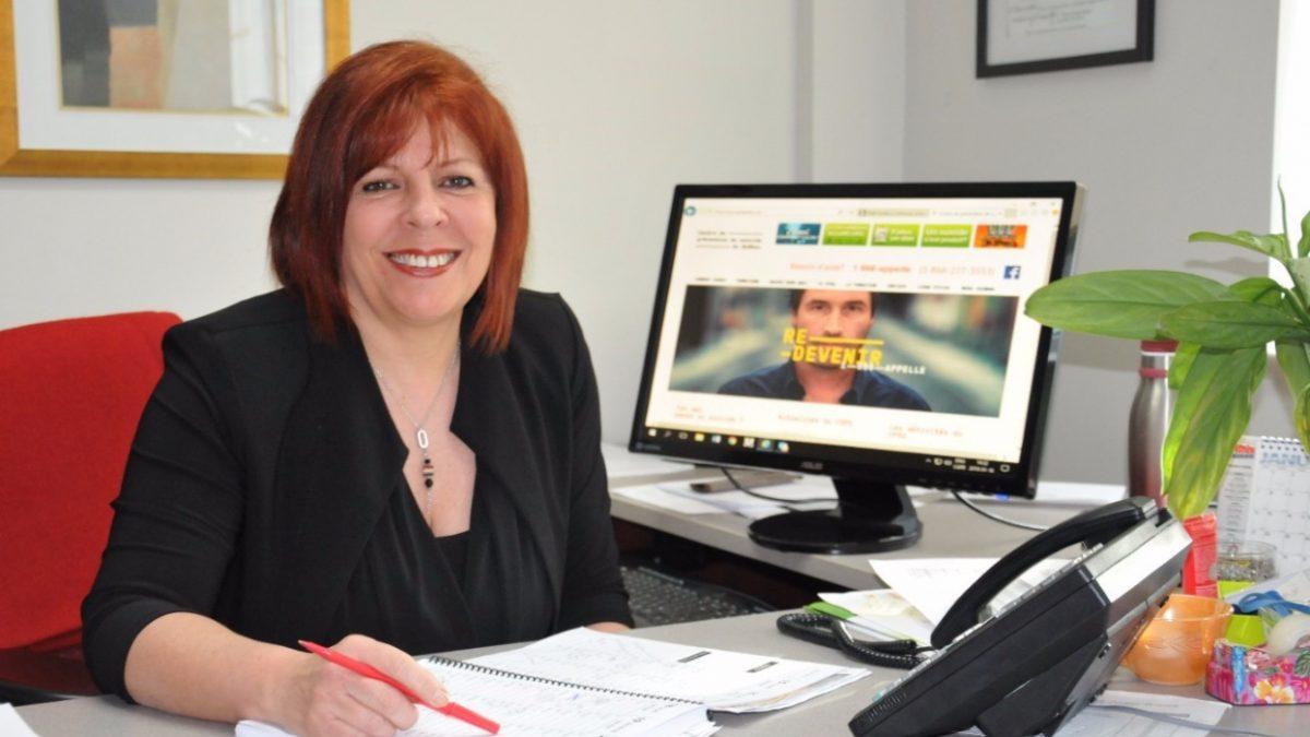 Mme Lynda Poirier, directrice générale du Centre de prévention du suicide de Québec.