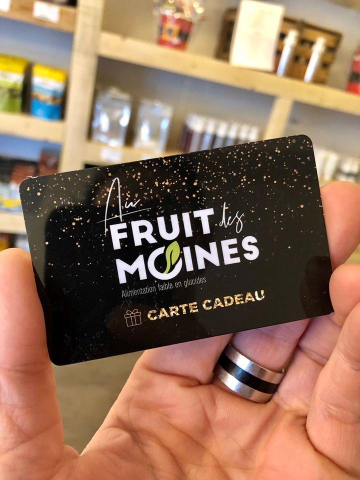 Carte cadeau Au fruit des moines | Au Fruit des Moines