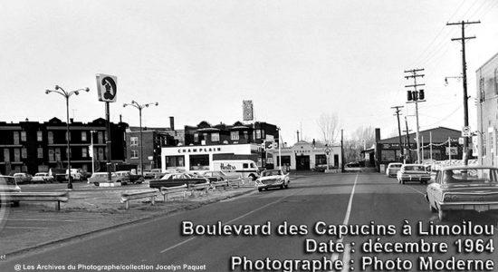 Limoilou dans les années 1960 (125) : intersection des Capucins et de la Canardière - Jean Cazes