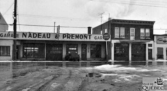 Limoilou dans les années 1960 (124) : garage Nadeau & Prémont - Jean Cazes