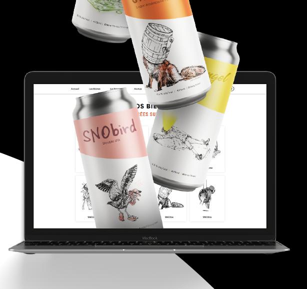 Service de bières au volant   SNO Microbrasserie Nordik