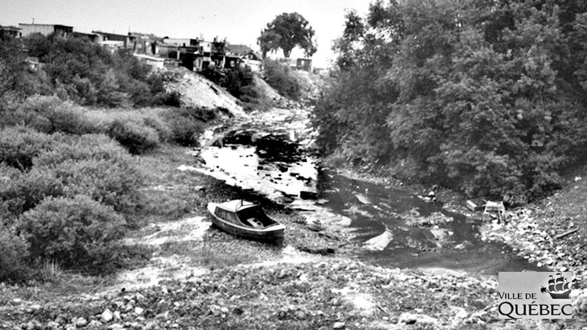 Chronique d'une rivière disparue : Enquête du département de la santé et projet de canalisation dans les années 1940 | 24 avril 2020 | Article par Réjean Lemoine