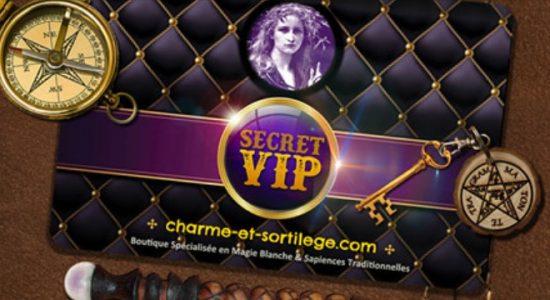 Carte VIP Charme & Sortilège | Charme & Sortilège