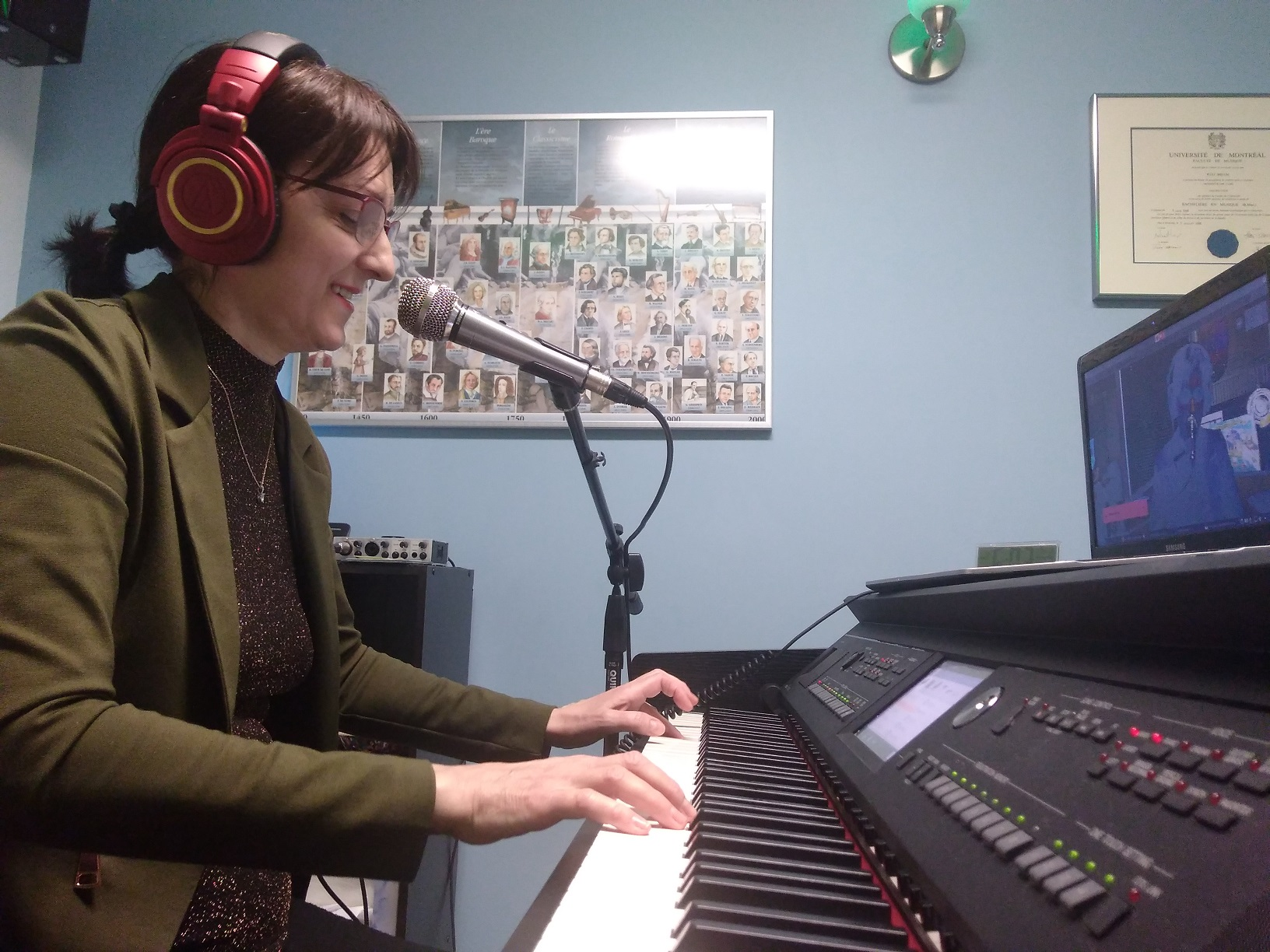 Cours de musique en vidéoconférence | École de musique Premier Mouvement