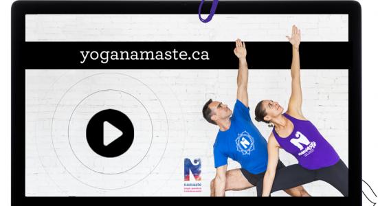 Cours de yoga en ligne | Namaste Yoga Limoilou