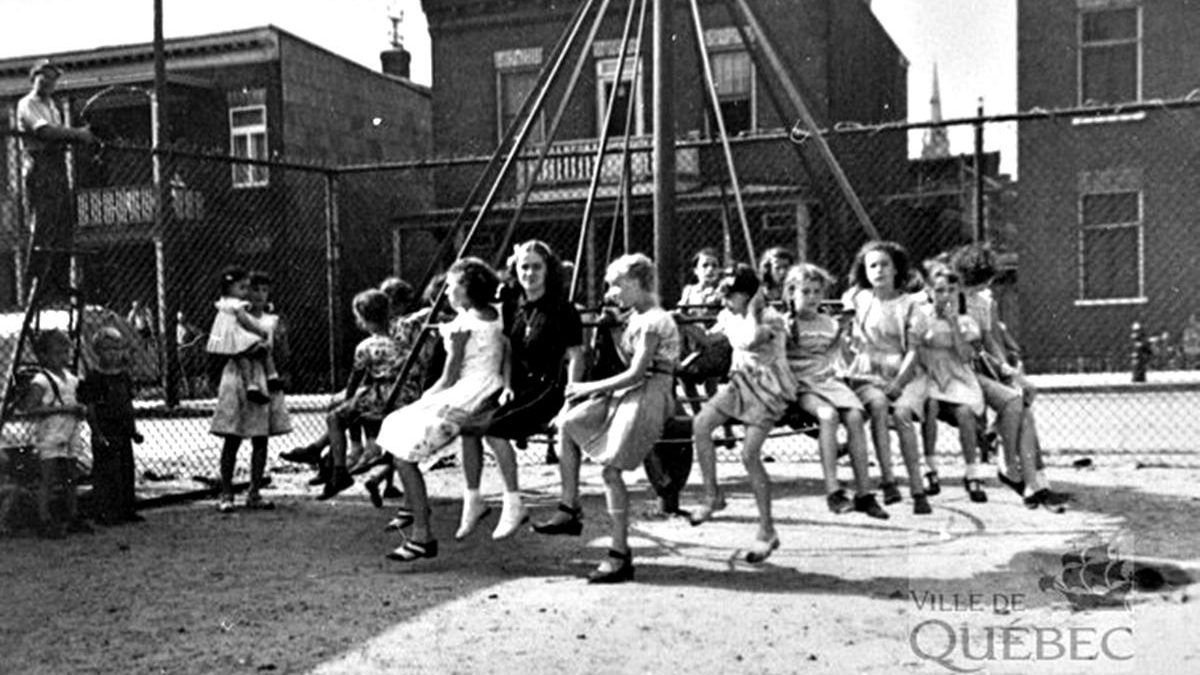 Limoilou dans les années 1940 (39) : le parc d'Iberville | 24 mai 2020 | Article par Jean Cazes