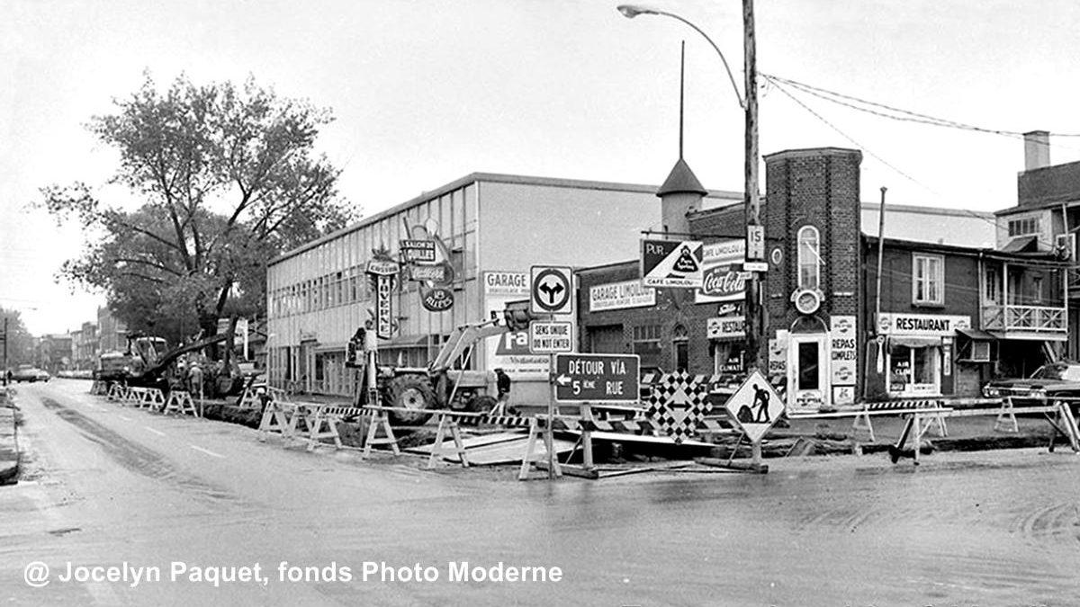 Limoilou dans les années 1960 (131): travaux sur la 4e Rue | 5 juillet 2020 | Article par Jean Cazes