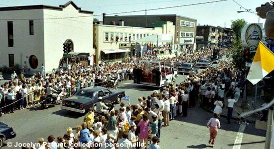 Limoilou dans les années 1980 (20) : retour sur la visite marquante du pape - Jean Cazes