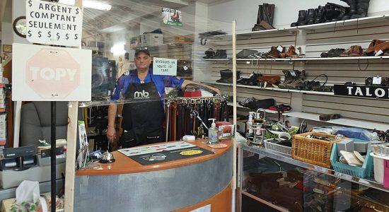 Nos commerçants au temps de la COVID-19: l'exemple de la cordonnerie Grands-Pas - Jean Cazes