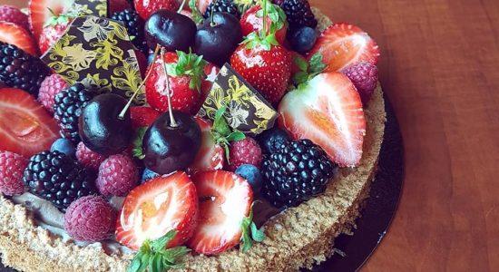 Commande de desserts   Baraque gourmande (La)