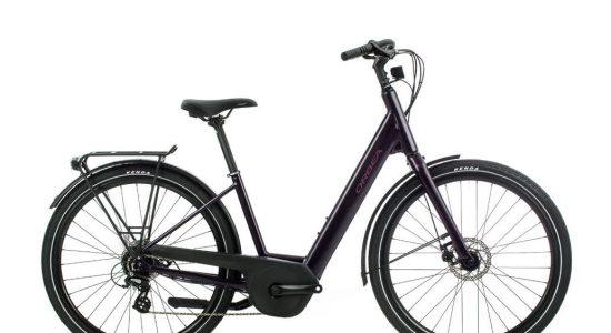 Vélo électrique Orbea Optima E50 Violet Small | Demers bicyclettes et ski de fond