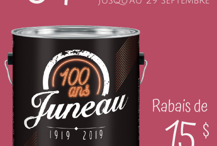Promotion gallon de peinture Juneau | Juneau