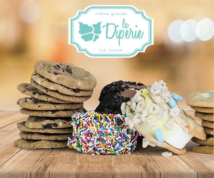 Sandwich à la crème glacée personnalisé | Diperie (La)