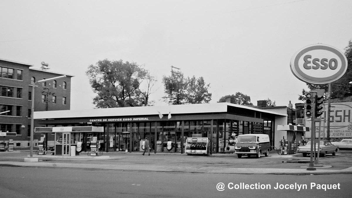 Limoilou dans les années 1960 (132) : la station-service Esso du Vieux-Limoilou | 18 octobre 2020 | Article par Jean Cazes