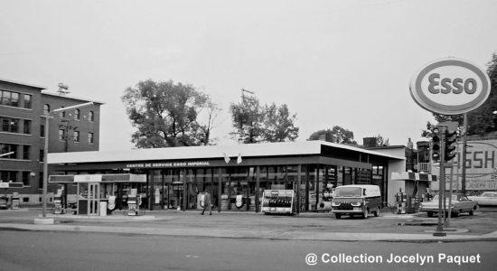 Limoilou dans les années 1960 (132) : la station-service Esso du Vieux-Limoilou - Jean Cazes