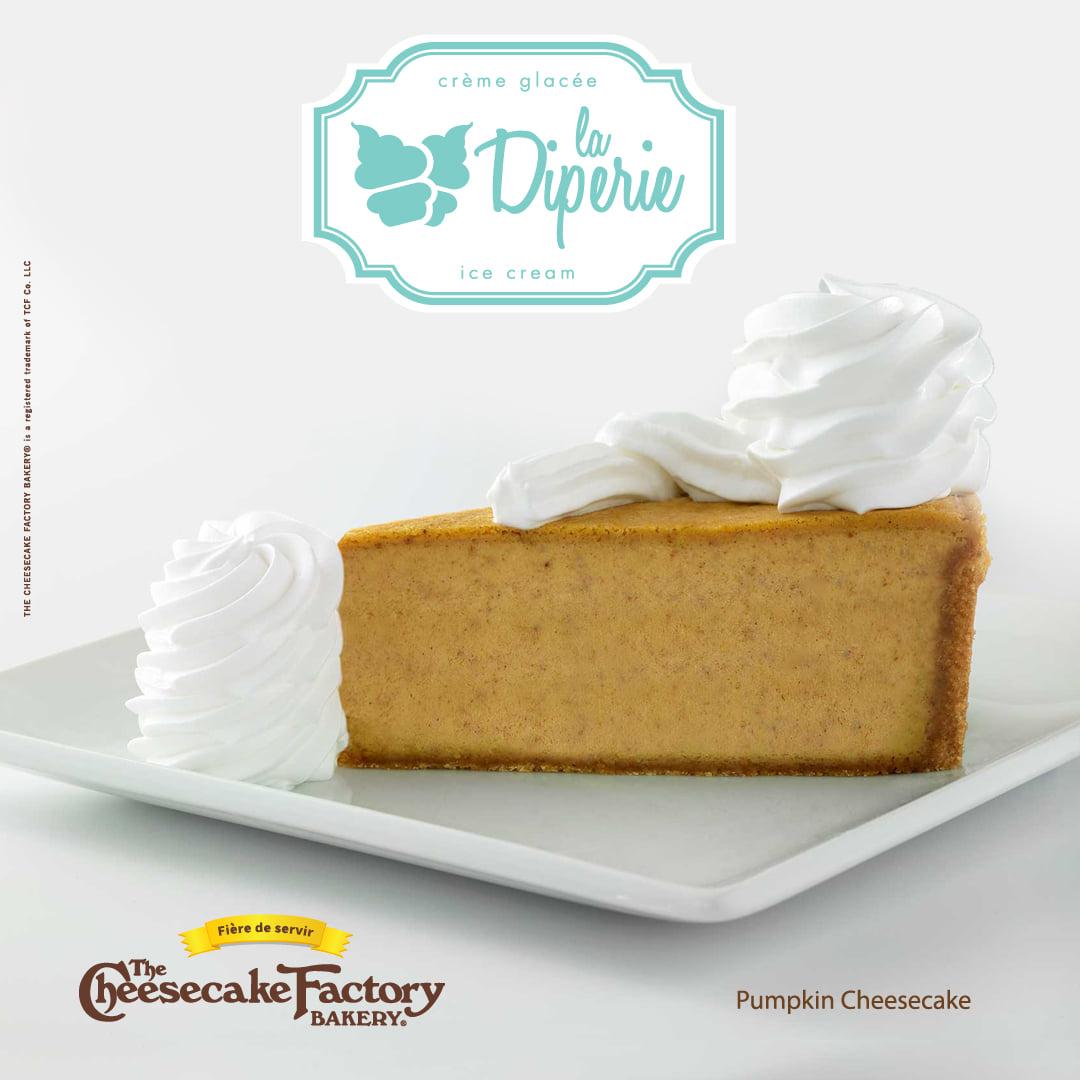 Tranche de Cheesecake à la citrouille | Diperie (La)