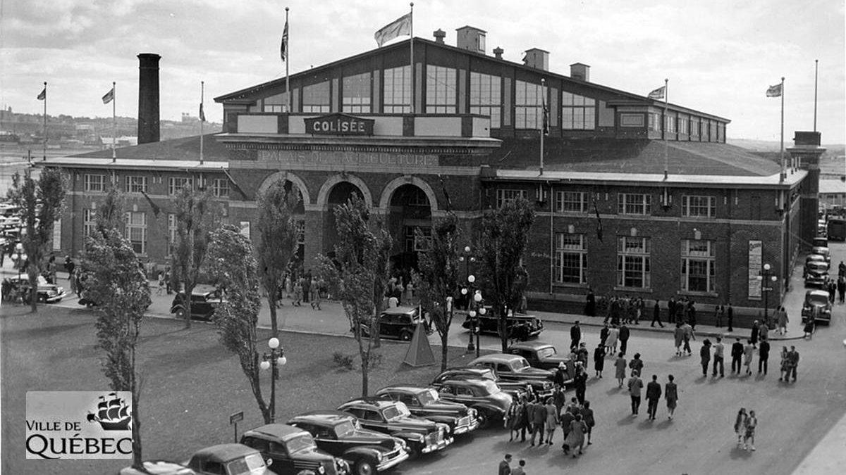 Une histoire du Colisée de Québec : 1- L'incendie du petit Colisée en 1949 | 1 novembre 2020 | Article par Réjean Lemoine