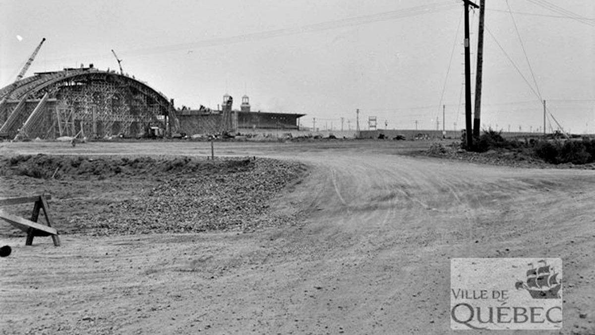 Le chantier en date du 4 août 1949.