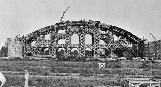 Une histoire du Colisée de Québec : 2- Construire un amphithéâtre en six mois - Réjean Lemoine