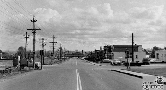 Limoilou dans les années 1960 (134) : intersection 18eRueet boulevard Henri-Bourassa - Jean Cazes