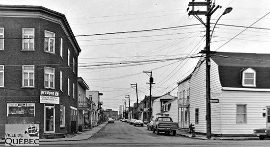 Limoilou dans les années 1970 (47) : intersection des rues Dorchester et Papineau - Jean Cazes
