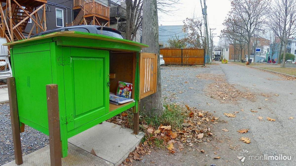 Un Croque-Livres et une « Botte d'abondance » ajoutent leurs couleurs au Vieux-Limoilou   5 novembre 2020   Article par Suzie Genest