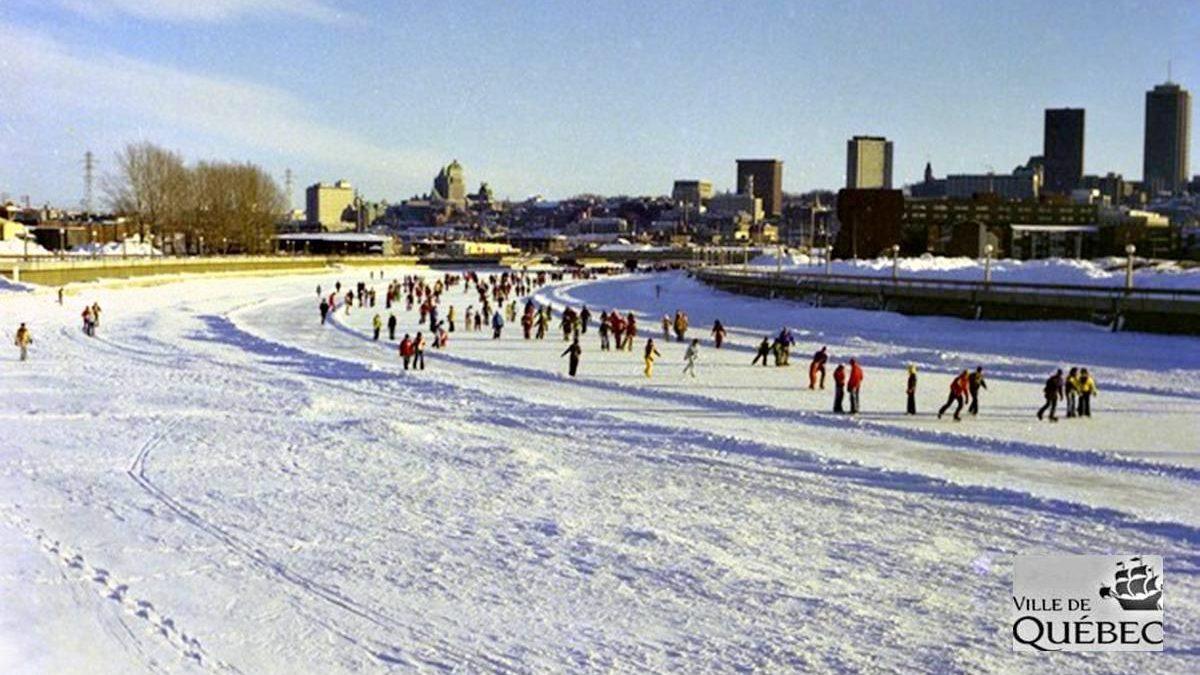 Histoire de la patinoire de la Saint-Charles : 1- Allons patiner sur la rivière! | 13 décembre 2020 | Article par Réjean Lemoine