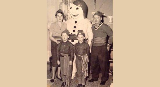 Les soirées du Carnaval de Québec chez mes grand-parents Hawey - Monlimoilou