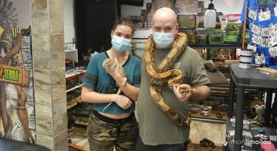 À la découverte du refuge animal Leterrarium et de sa boutique pour amoureux des reptiles - Jean Cazes