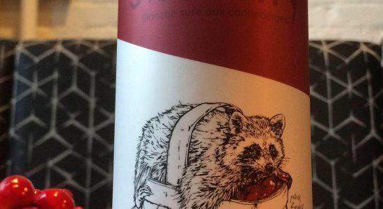 Bière blanche sûre : La SNOberry | SNO Microbrasserie Nordik