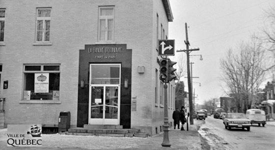 Limoilou dans les années 1960 (138) : la Banque d'Économie de Québec sur la 1re Avenue - Jean Cazes