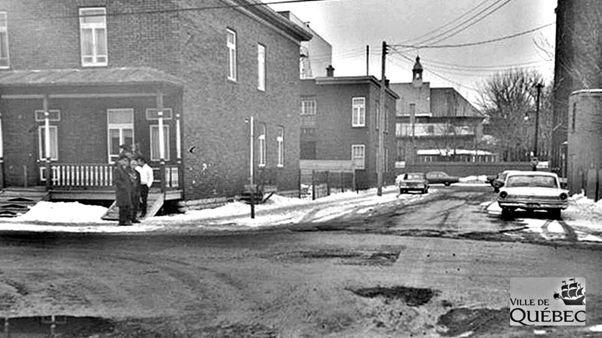 Limoilou dans les années 1960 (136) : intersection 3e Rue – 9e Avenue avant l'autoroute | 7 mars 2021 | Article par Jean Cazes