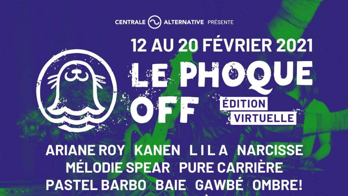 Une édition numérique pour Le Phoque OFF 2021 | 1 février 2021 | Article par Julie Rheaume