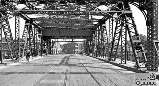 Limoilou dans les années 1940 (41) : le pont Drouin - Jean Cazes