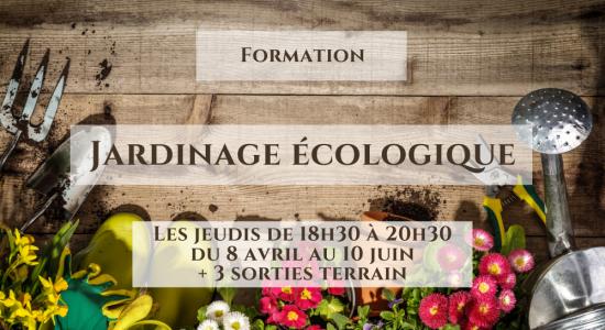 Formation: Jardinage écologique