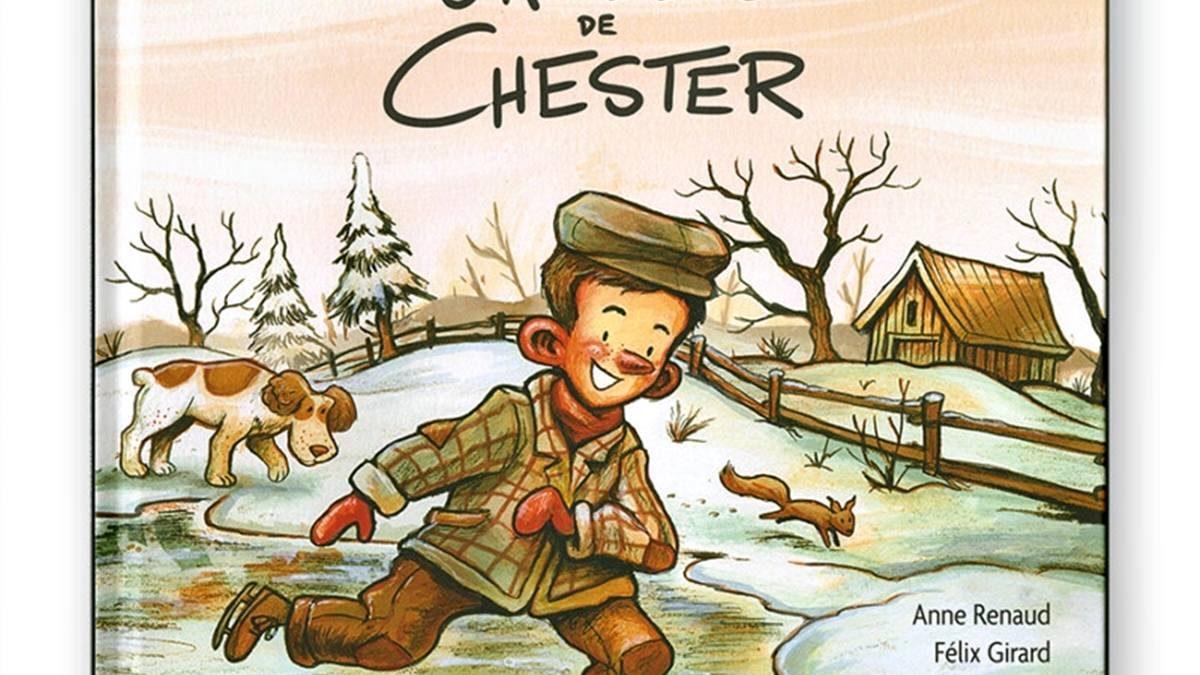 Page couverture du livre jeunesse «Les Oreilles de Chester»,