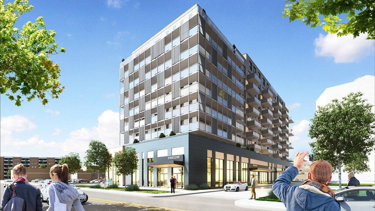 Le Quartier NUVO : 126 nouveaux « condos locatifs » près de l'écoquartier D'Estimauville | 17 mars 2021 | Article par Jean Cazes