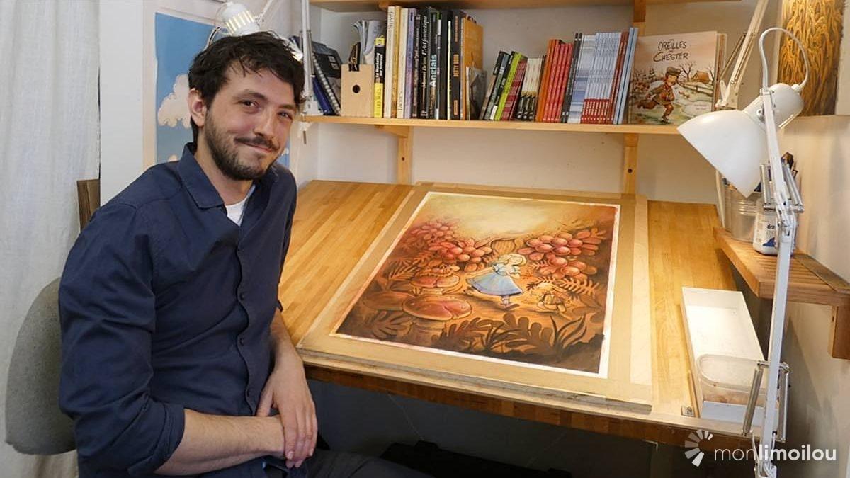 Félix Girard, illustrateur : quand la passion trace la voie | 2 avril 2021 | Article par Jean Cazes