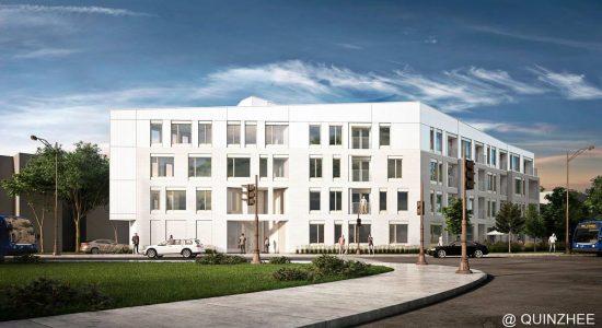 Le Scandinave : 40 nouveaux logements locatifs près du Centre Vidéotron - Jean Cazes