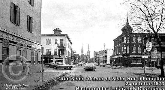 Limoilou dans les années 1970 (53) : intersection 3e Avenue et 5e Rue - Jean Cazes