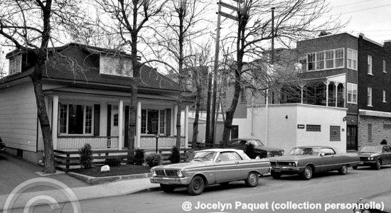 Limoilou dans les années 1970 (50) : une maison disparue et l'épicier-boucher L. P. Couture - Jean Cazes
