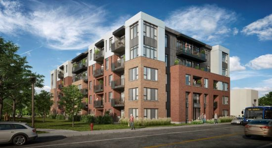 Un immeuble de 63 logements au 445, 1re Avenue - Julie Rheaume