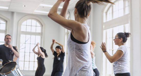 Session d'automne 2018 à l'École de Danse de Québec