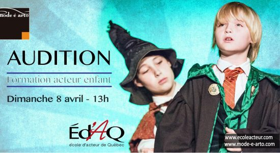Audition | Acteur Enfant