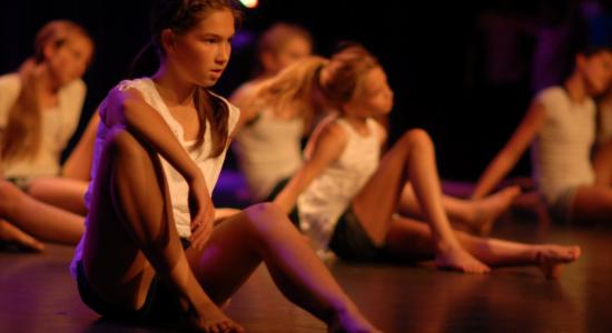 Spectacle du camp d'été de l'École de danse de Québec