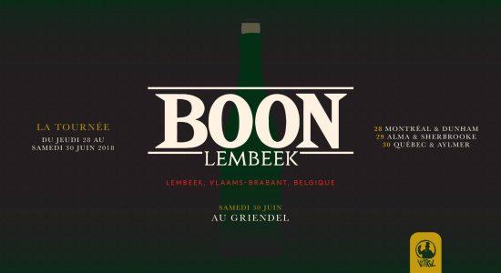 La tournée Boon Lembeek au Griendel